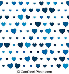 blu, cuore, seamless, fondo
