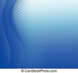 blu, disegno astratto, fondo