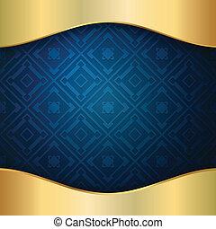 blu, elegante, fondo