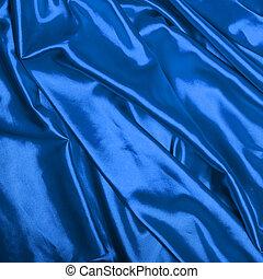 blu, elegante, seta, liscio, fondo
