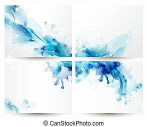 blu, elementi