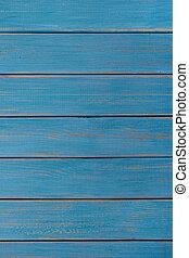 blu, estate, verticale, legno, fondo, spiaggia