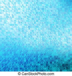 blu, fondo., geometrico, astratto