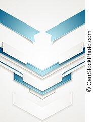 blu, frecce, astratto, tecnologia, disegno
