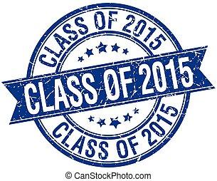blu, grunge, francobollo, isolato, retro, 2015, classe, nastro