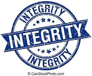 blu, grunge, francobollo, isolato, retro, integrità, nastro