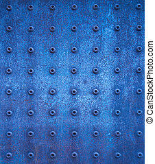 blu, grunge, struttura