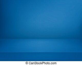 blu, illuminato, stage., vettore, pubblicità, sagoma, illustration.