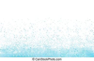blu, inverno, space., fondo, bianco, copia, mosaico