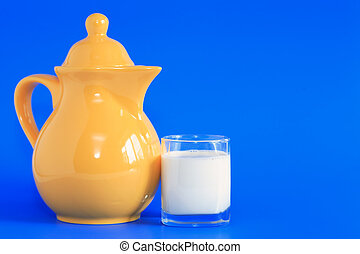 blu, latte