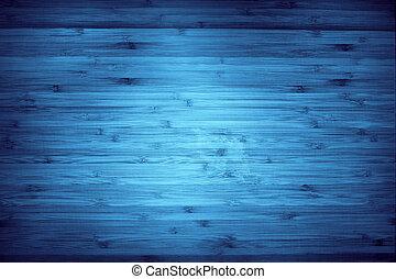 blu, legno