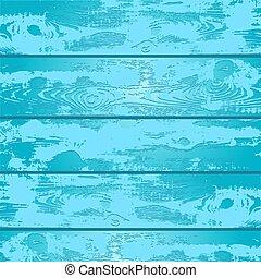 blu, legno, vettore, illustrazione, struttura