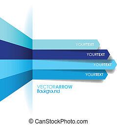 blu, linea, freccia, fondo