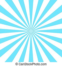 blu, manifesto, bianco, raggi