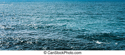 blu, mare, superficie, acqua oceano, fondo