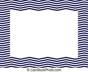 blu marino, chevron, cornice