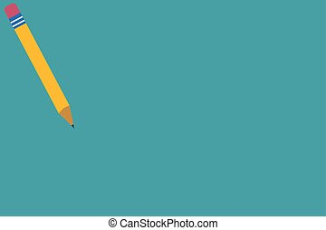 blu, matita, concetto, marketing., indicare, moderno, isolato, contro, creativo, sites., fondo., grafite, idea, gomma, digitale, fondale, ordinario, giù