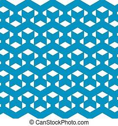 blu, modello, astratto, vettore, geometrico