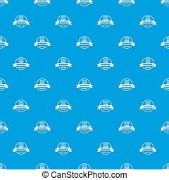 blu, modello, costruzione, seamless, decotrative