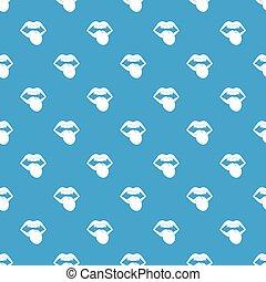 blu, modello, emblema, seamless, roccia