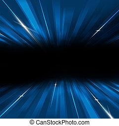 blu, movimento, astratto, fondo