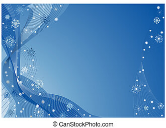 blu, natale, fondo
