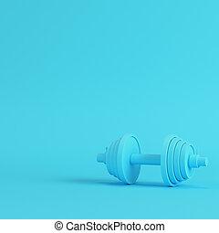 blu, pastello, astratto, colori luminosi, fondo, dumbbell