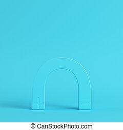 blu, pastello, luminoso, magnete, colori, fondo
