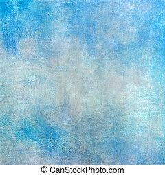 blu, pastello, struttura, fondo