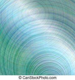 blu, pendenza, astratto, sfondo verde, disegno