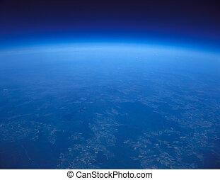 blu, planet.