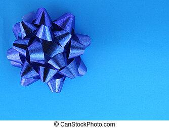 blu, presente