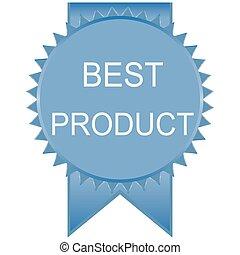 blu, prodotto, distintivo, affare