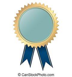 blu, qualità, -, sagoma, sigillo