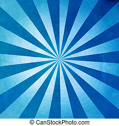 blu, raggi, fondo, struttura