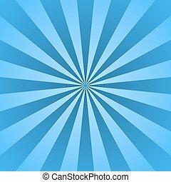 blu, raggi, stella