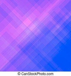 blu, rosa, astratto, modello