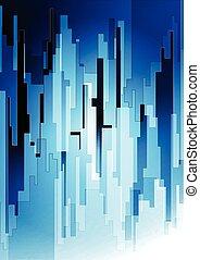 blu scuro, disegno, arte, tecnologia