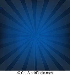 blu scuro, sunburst, fondo