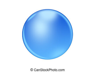 blu, sfondo bianco, icona