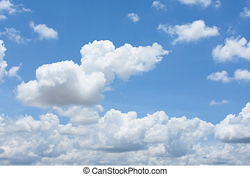 blu, strom, nube cielo, fondo