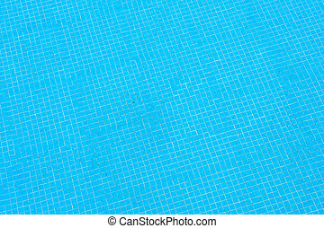 blu, struttura, pavimentato, superficie, stagno, nuoto