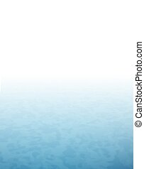 blu, superficie, acqua, nebbia, mare, bianco
