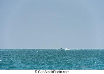 blu, superficie, oceano