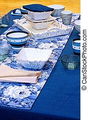 blu, tabletop