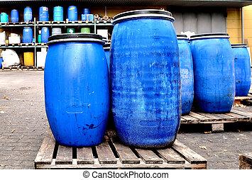 blu, tamburi