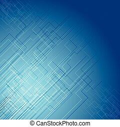 blu, tecnologia, disegno, struttura