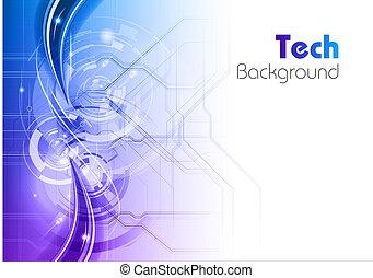 blu, tecnologia