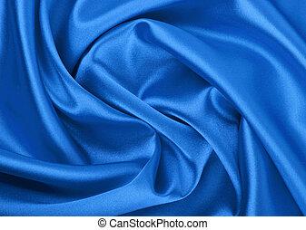 blu, uso, liscio, elegante, fondo, lattina, fondo, seta