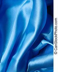 blu, uso, liscio, elegante, lattina, fondo, seta